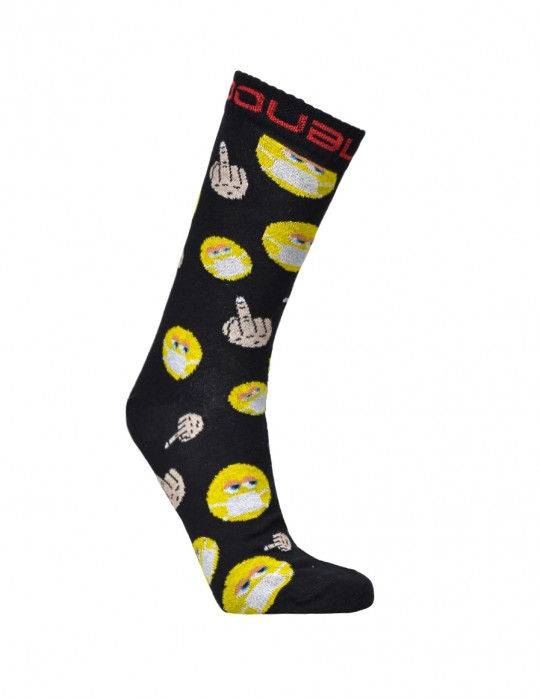 DOUBLE FUN Socks FCK Yourself Covid