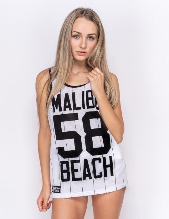Womens Top Malibu 58 White