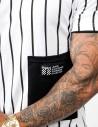 T-Shirt BROOKLYN Stripes BW Edition White