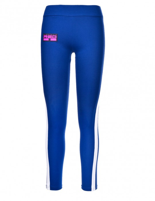 Leggins SPORT IS YOUR GANG 3D Logo Dark Blue