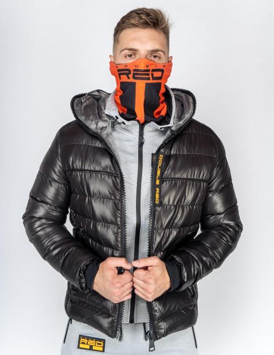 THE ZIPPER Winter Jacket Black