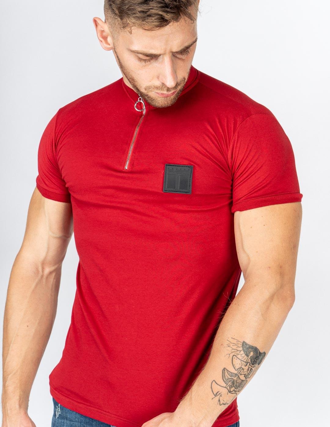 MONTECARLO T-Shirt Bordeaux