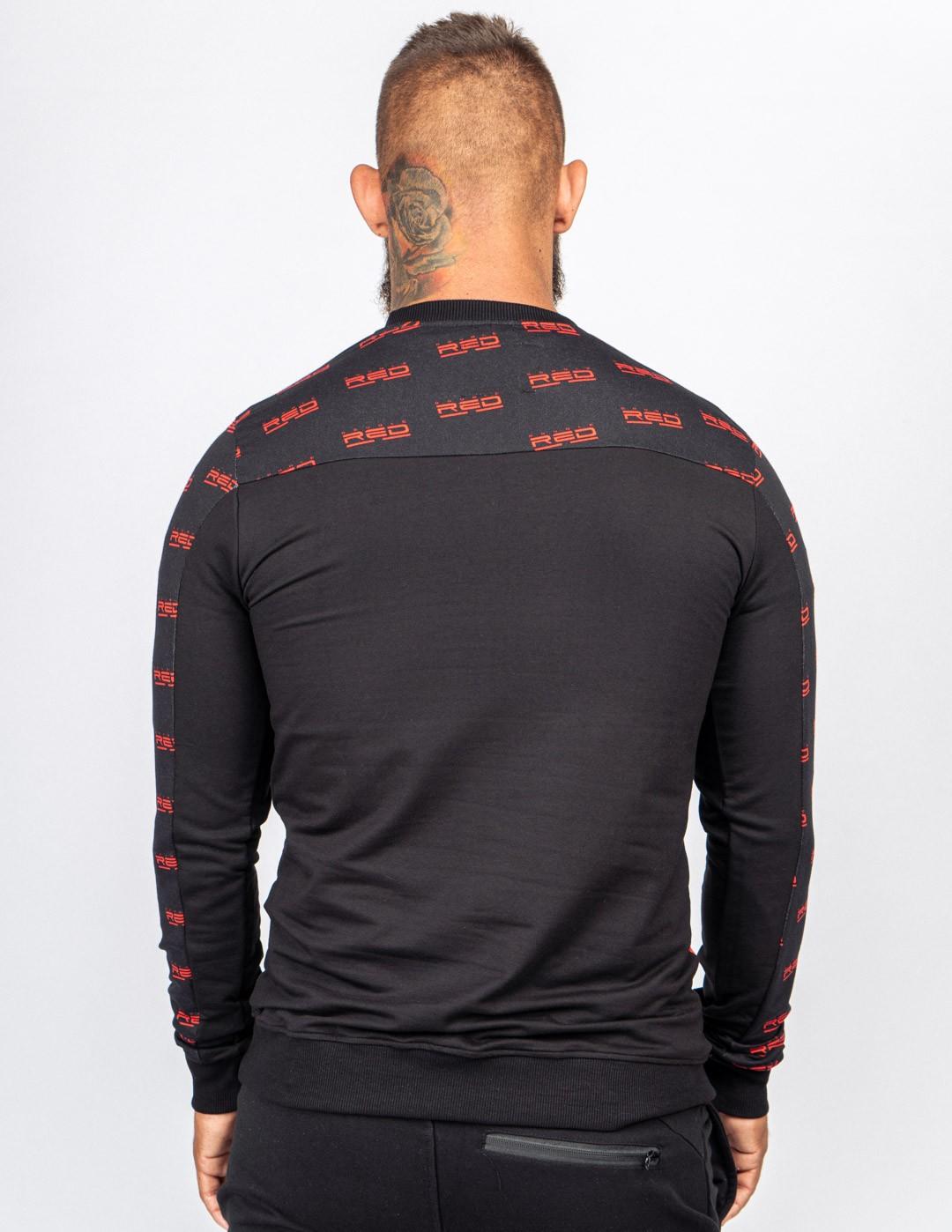 Sweatshirt UTTER  FULL LOGO Black