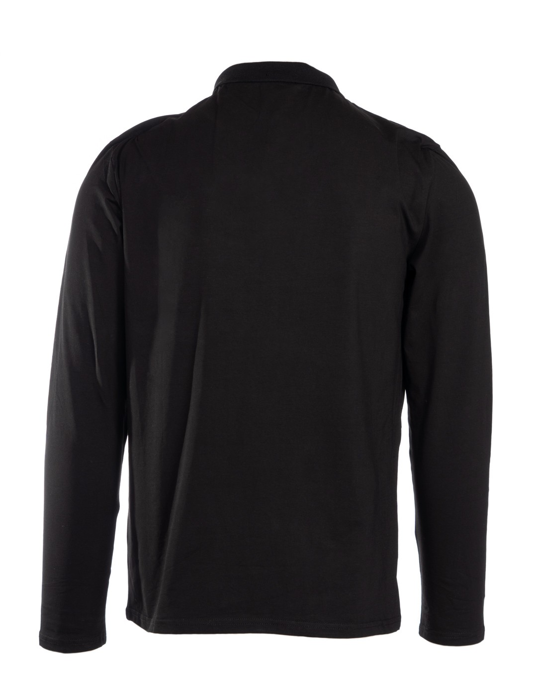 Red Polo King Sleeve Black