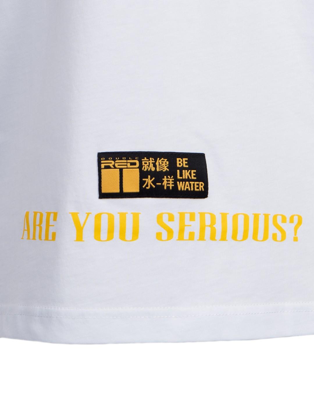 T-Shirt HIKARI Kung-fu Master Fun edition White