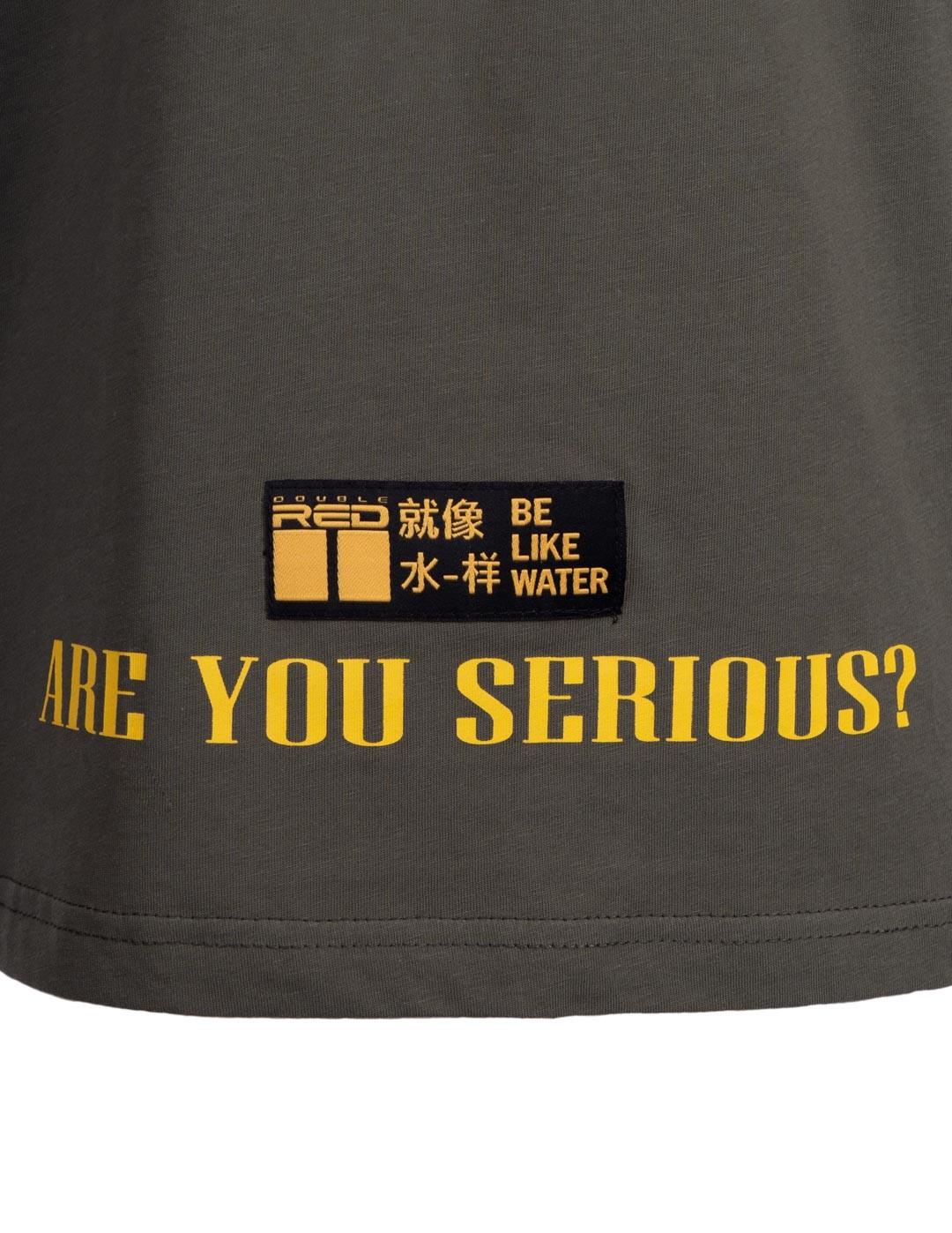 T-Shirt HIKARI Kung-fu Master Fun edition Grey