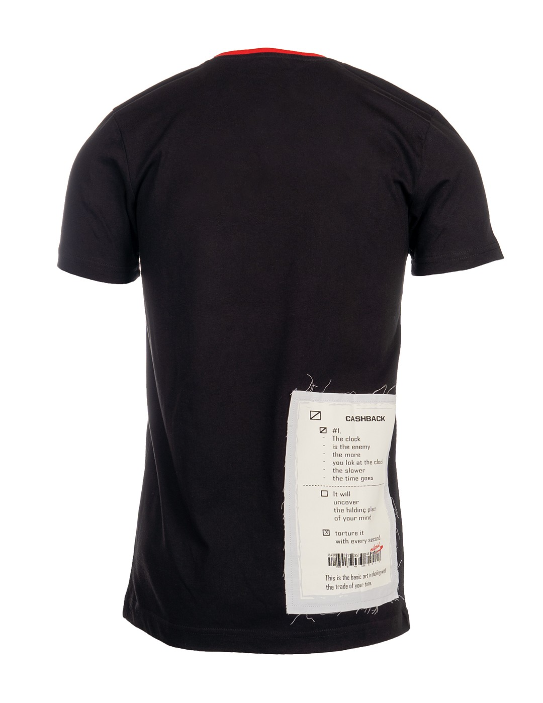 T-Shirt CASHBACK Black