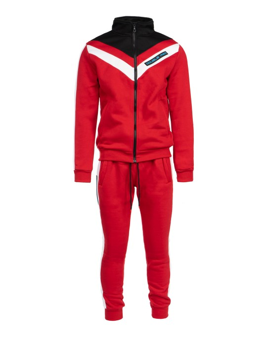 Tracksuit RETRO 90'S Limited Collection Red/White