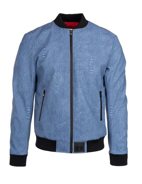 SOPRANO Leather Jeans Jacket