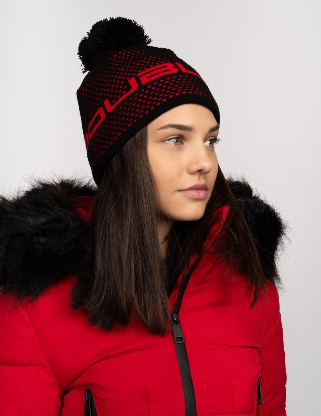 NISEKO Black Unisex Winter Cap
