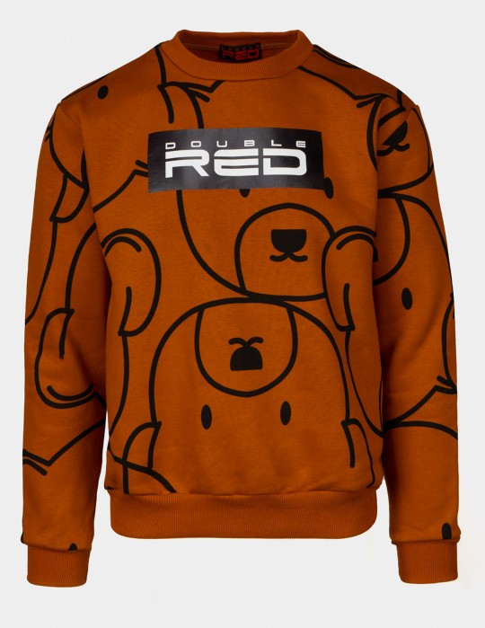 TEDDY Sweatshirt  Brown