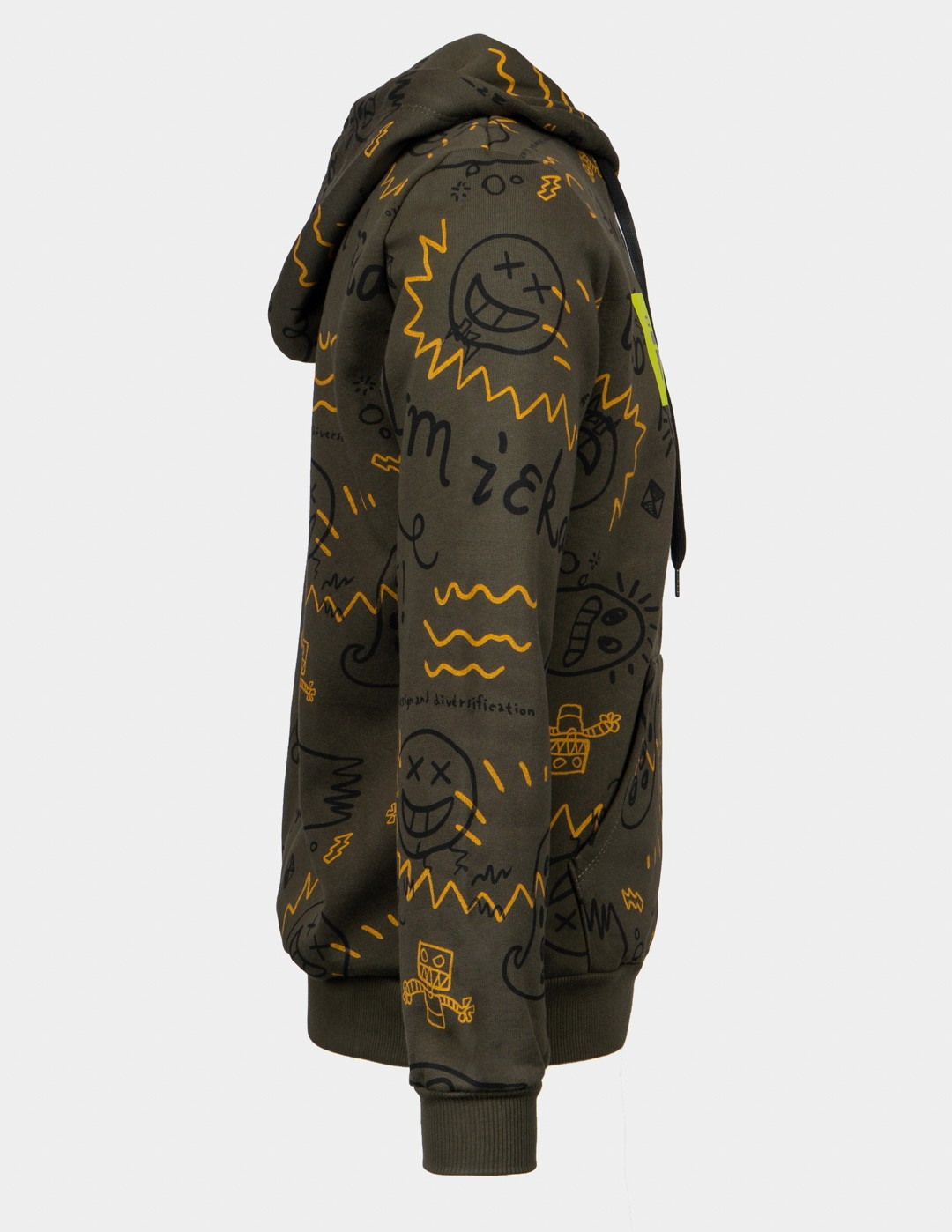 MONSTER COMPANY Hoodie Olive Green