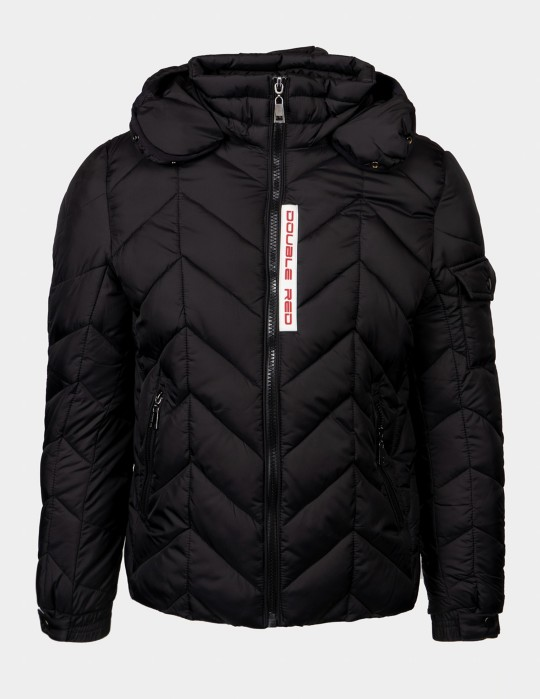ZENON RED SNOW Jacket Black