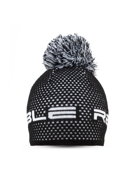 NISEKO Black & White Unisex Winter Cap