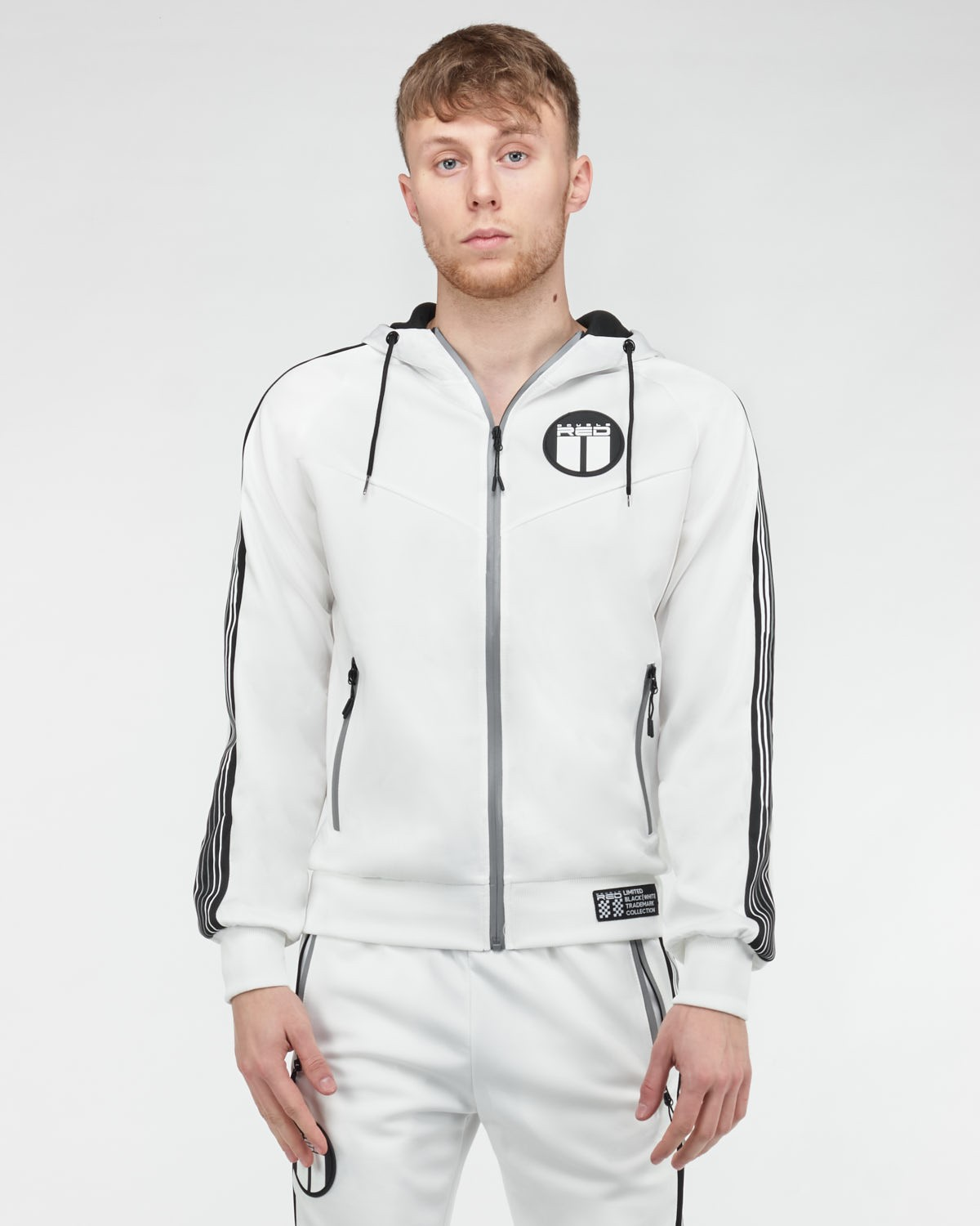 REFLEXERO SPORT IS YOUR GANG Tracksuit White