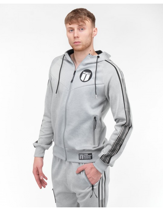 REFLEXERO SPORT IS YOUR GANG Tracksuit Silver