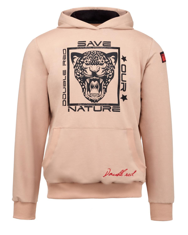 Natural Predators Leopard Hoodie Beige
