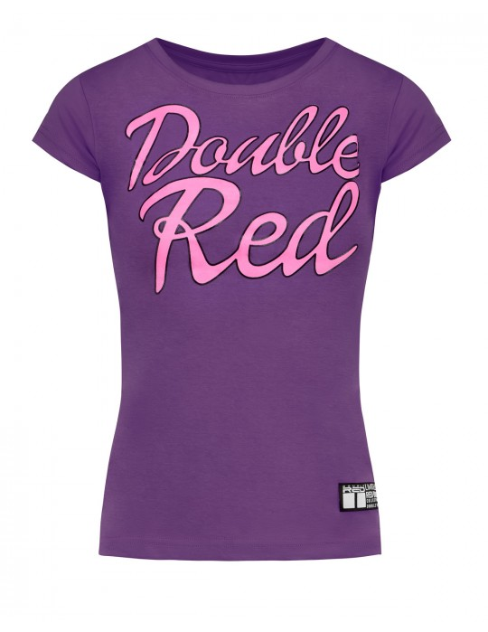 Red Body Collection T-Shirt Purple