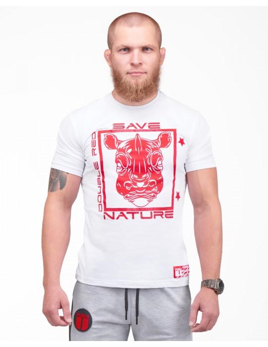 Natural Predators Rhino T-Shirt White