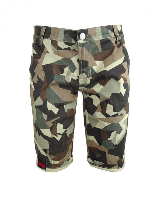 Limited Green Camo Bermuda Shorts