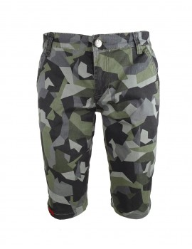 Limited DR M Grey Camo Bermuda Shorts
