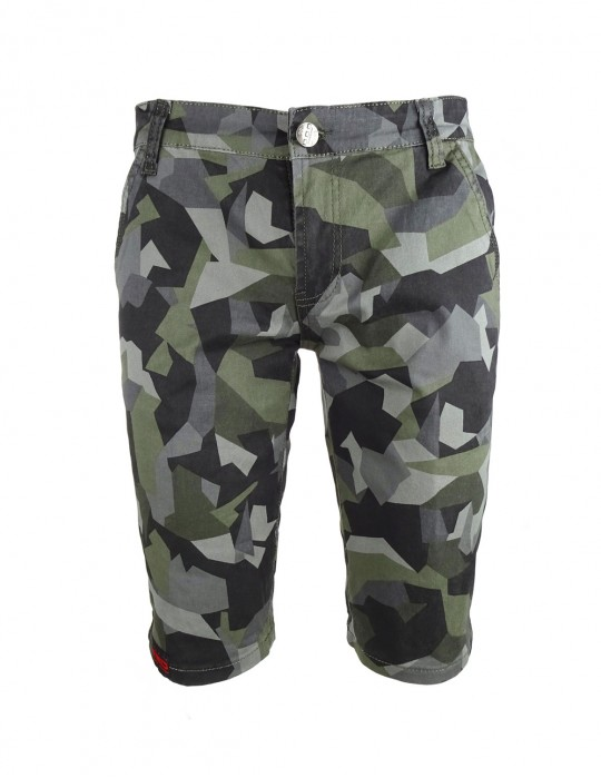 Limited Grey Camo Bermuda Shorts
