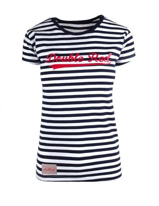 DR W Nautical T-shirt Type Red Logo
