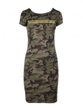 Limited Camo Slim Dress GOLDFOREVER