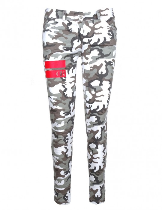 Limited Black&White CAMO Pants Stripes Edition