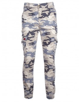 Limited DR M Camodresscode Pants Light Blue