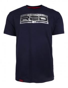 DR M T-Shirt Silver Black Basic