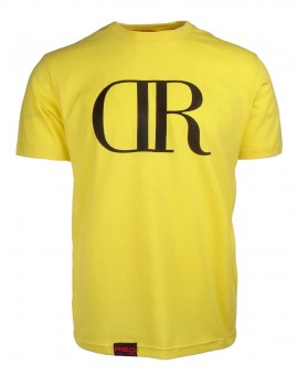 DR M T-shirt Basic Yellow