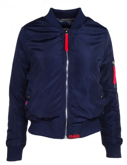Limited Flight Jacket Dark Blue