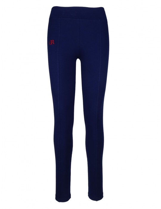 DR W Seamed Leggins Blue