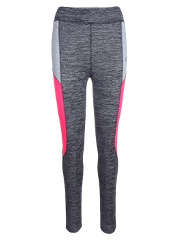 Double Red Babe Leggins Grey