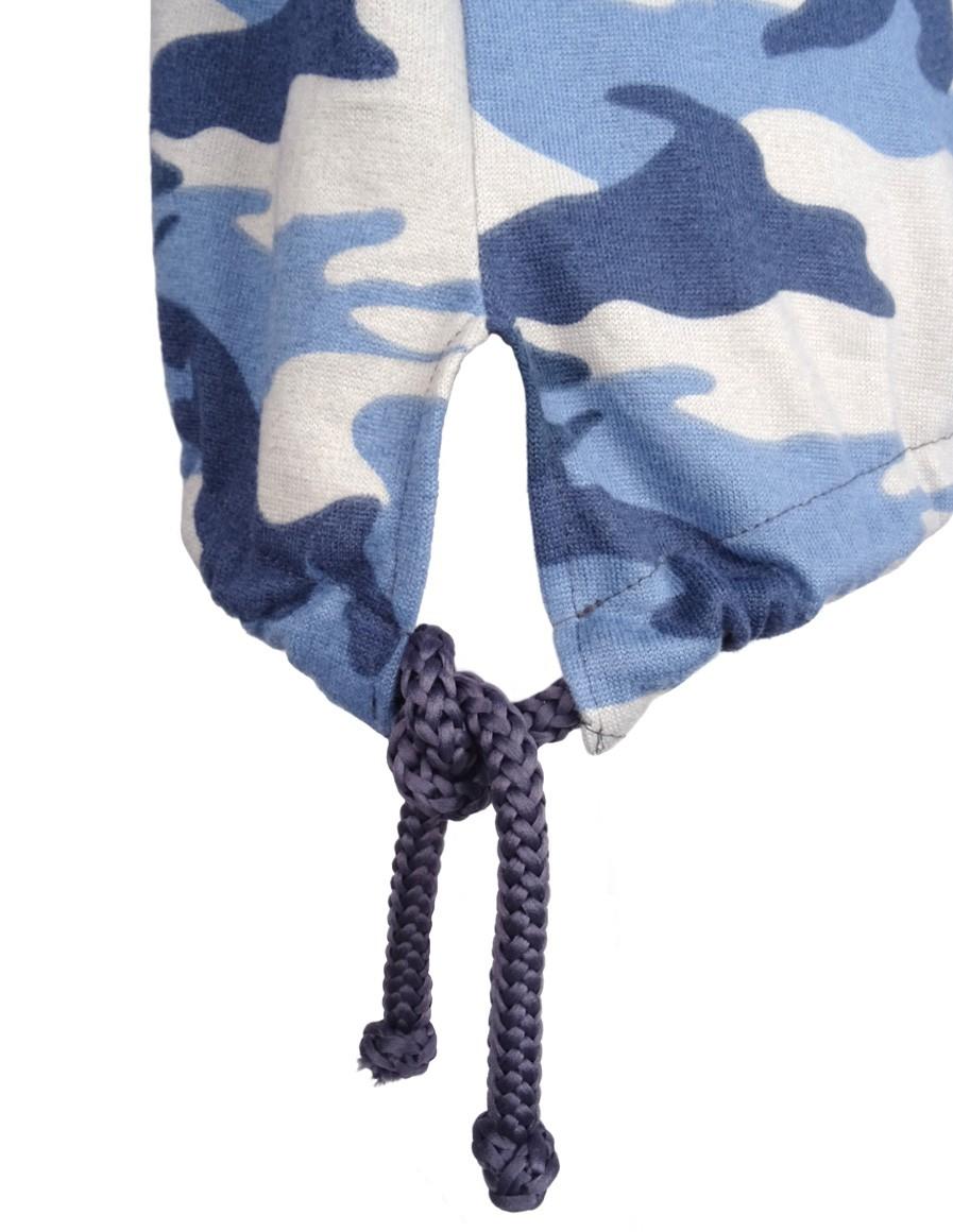 DR W Knit Jumper Blue CAMO