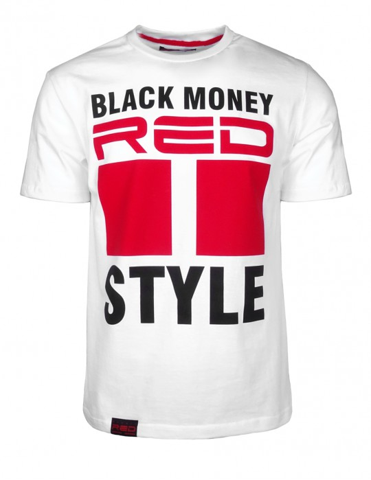 Black Money Style T-shirt White
