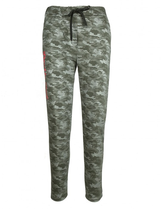 DR W Sweatpants Green Camo