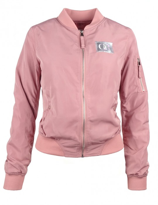DR W Flight Jacket Pink