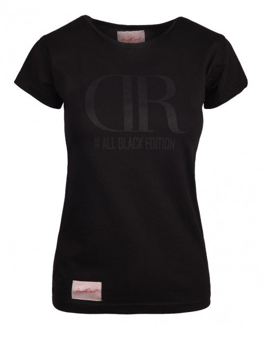 DR W T-shirt All black edition