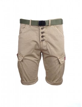 DR M Cargo Shorts Beige