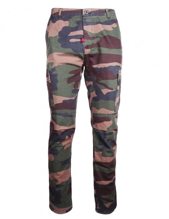 Cargo Pants Camo Green
