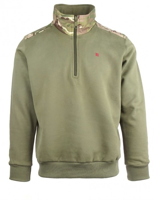 Green sweatshirt SOLDIER