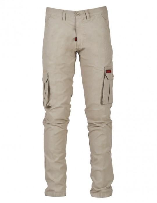 Classic Cargo Jeans Beige