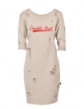 Limited Street Dress Beige