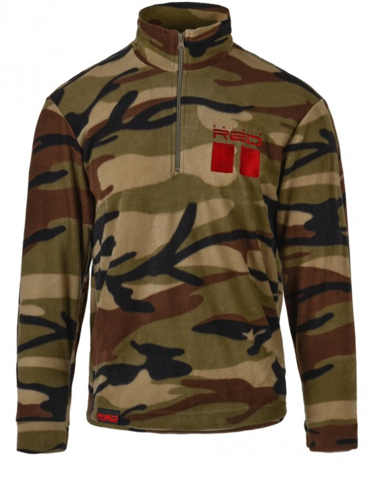Camo Fleece Sweatshirt