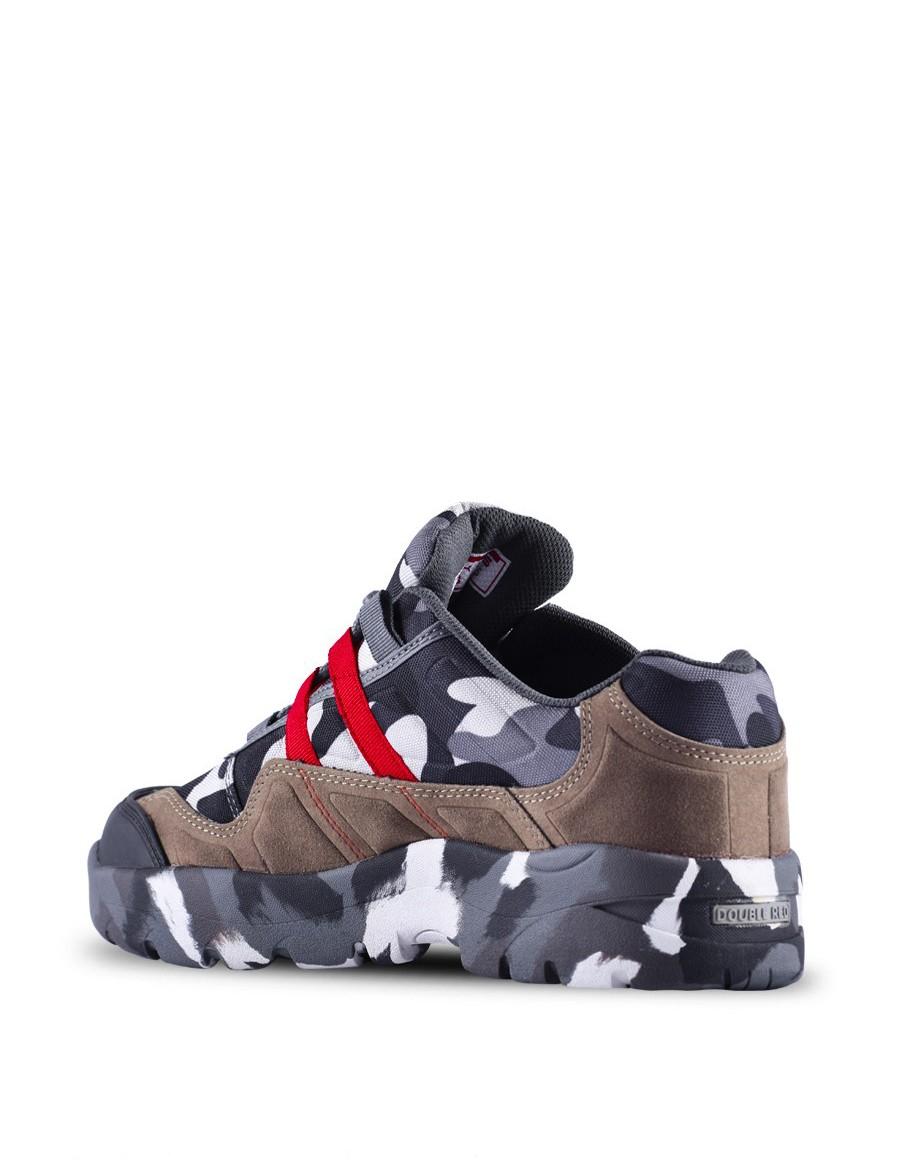 Boots Attack B&W Camo