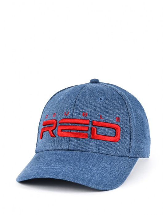 DOUBLE RED REDJEANS 3D Embroidery Logo Cap Blue
