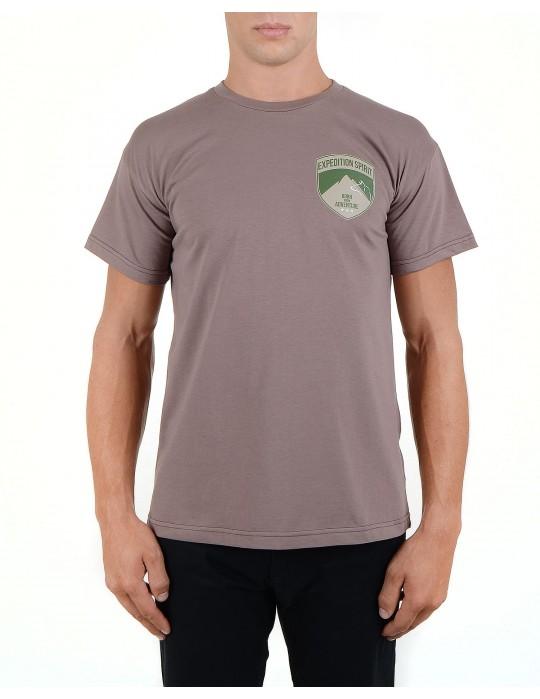 Šedé tričko The American Collection