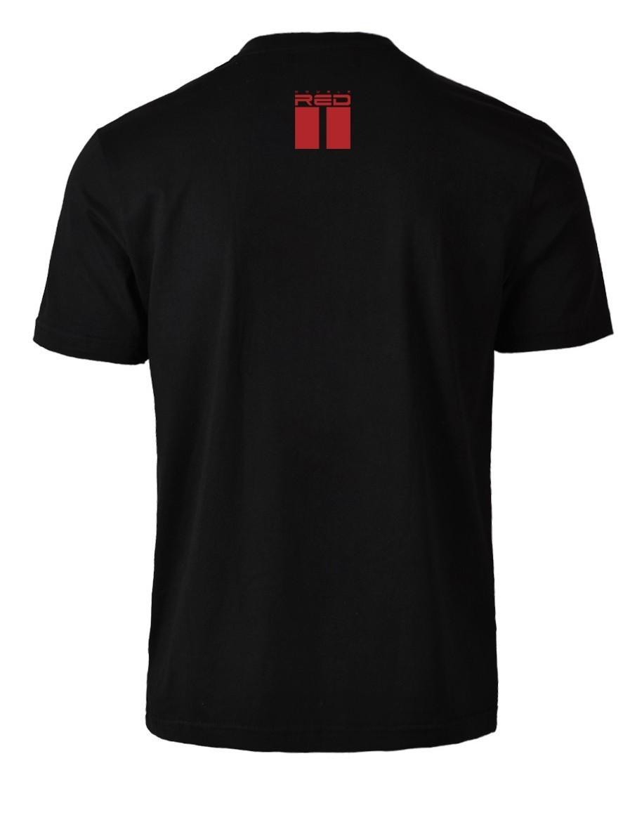 Black Money Red Style T-Shirt Black